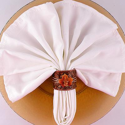 thanksgiving napkin ring gina tepper. Black Bedroom Furniture Sets. Home Design Ideas