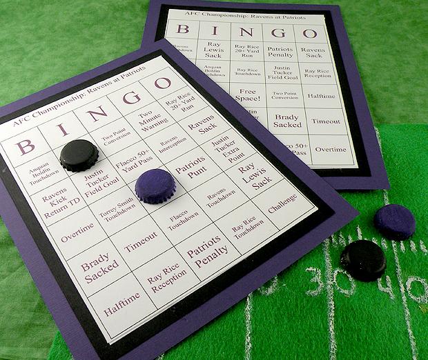 Ravens-Patriots-Bingo