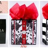 Sephora gift bag transformation