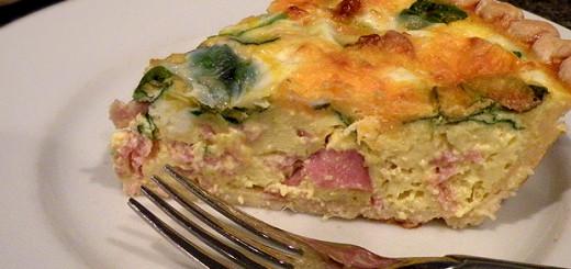 spinach-ham-quiche