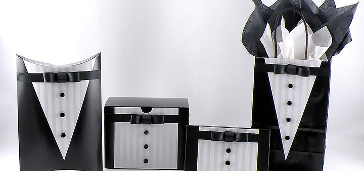 Black Tie Gift Wrap Designs