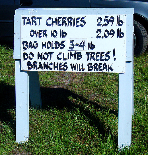 cherry-sign
