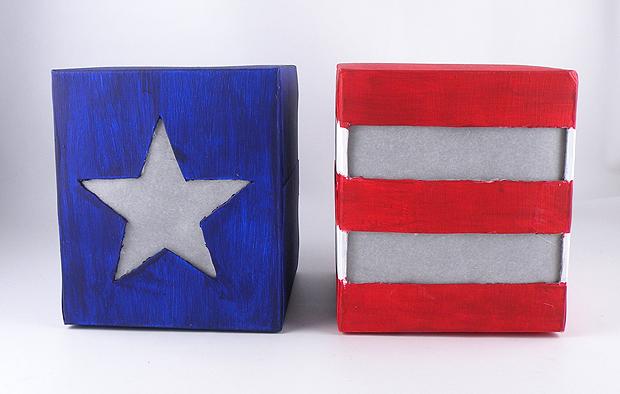 American Flag Lantern