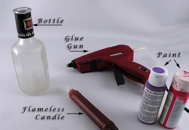 Wax-Bottle-Materials