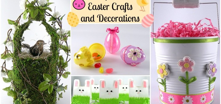 Inexpensive Easter Crafts and Decorations