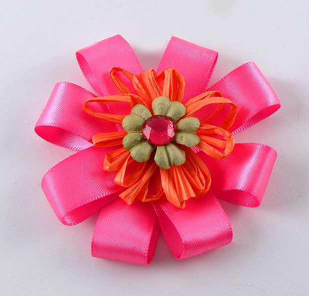 pink-and-orange-flower
