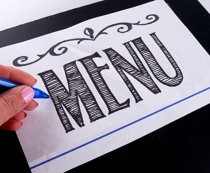 menu-templae