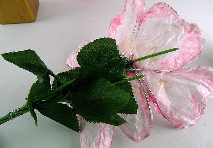 wire flower stem