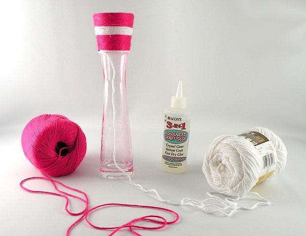 yarn-vase