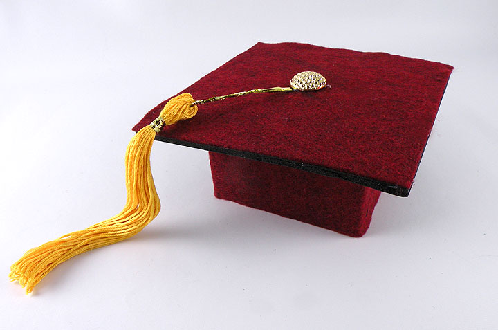 Graduation Cap Gift Wrap