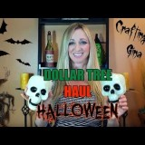 Halloween Dollar Tree Haul for Crafts and Decorations