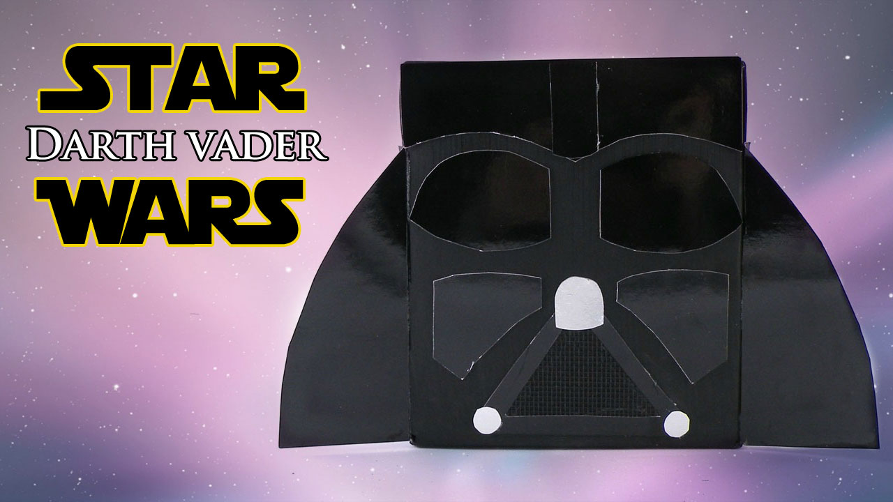 Diy Darth Vader Helmet Star Wars