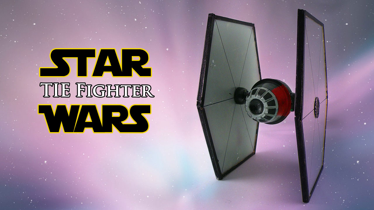 How To Make A Star Wars Tie Fighter Geek Speak Vector