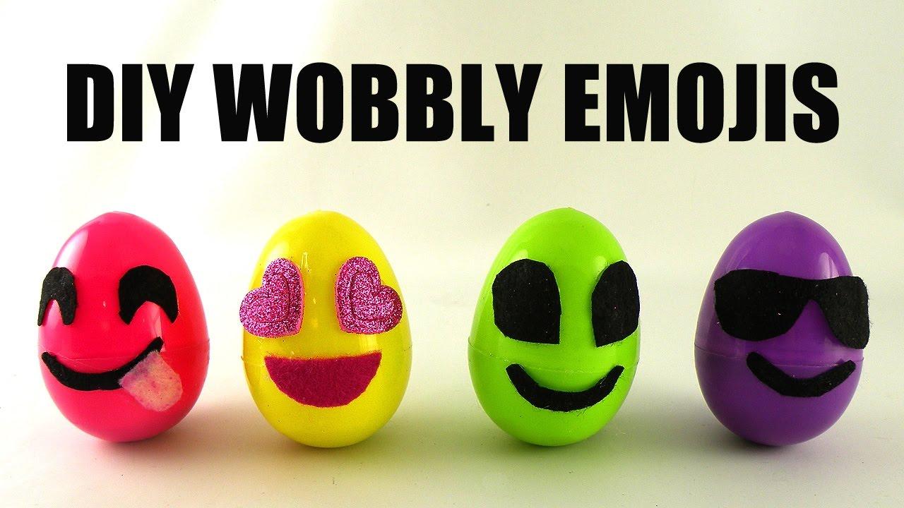 DIY Wobby Emojis
