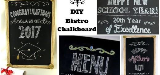 DIY Bistro Chalkboard