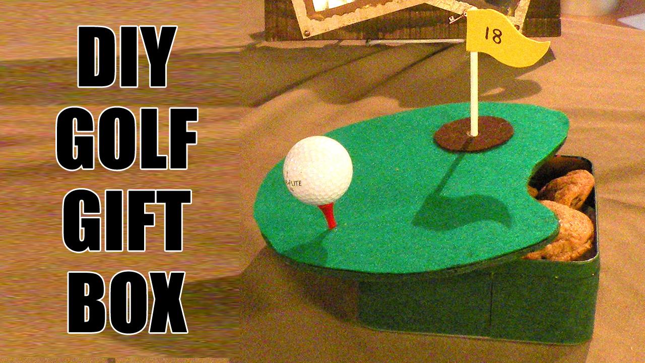 DIY Golf Gift Box Gina Tepper