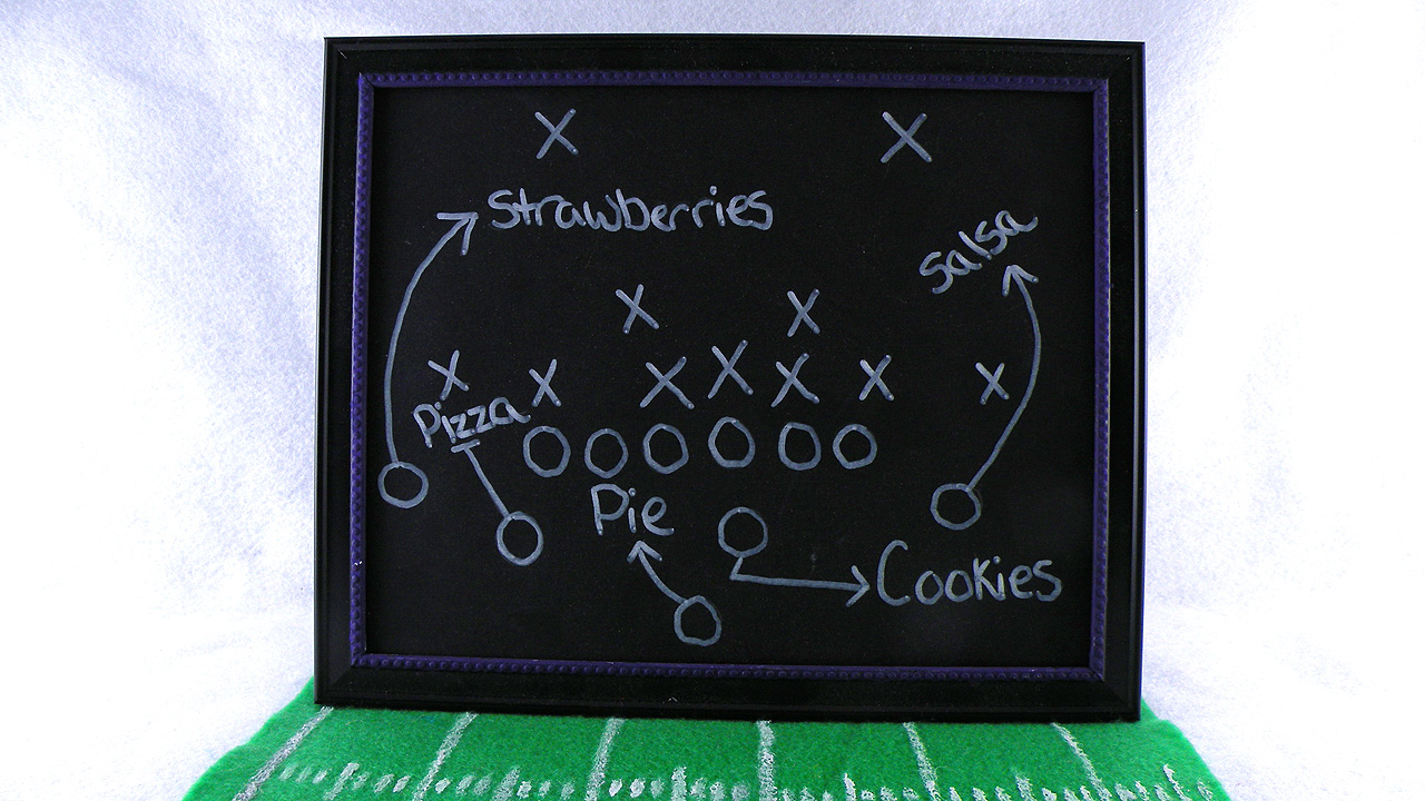 chalk-board