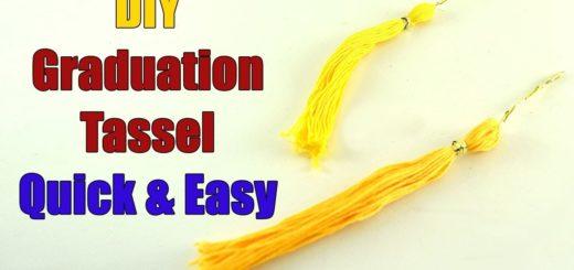 DIY Graduation Tassel