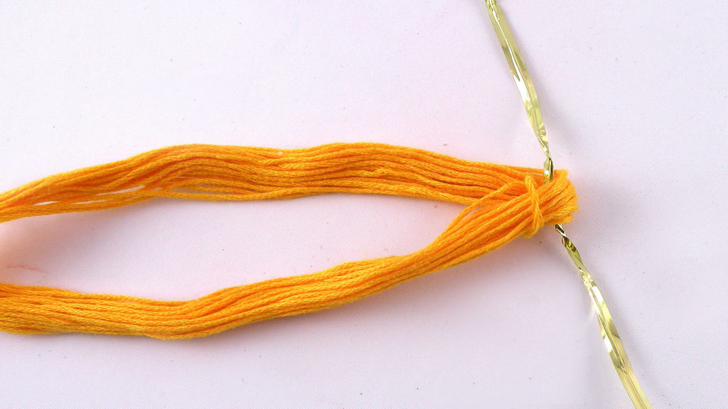 How to make a Graduation Tassel out of embroidery floss