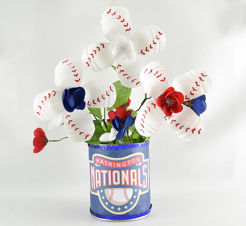 Baseball Flowers