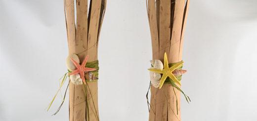 DIY Flameless Tiki Torches