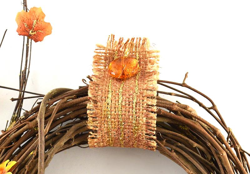 Thanksgiving Wreath Burlap
