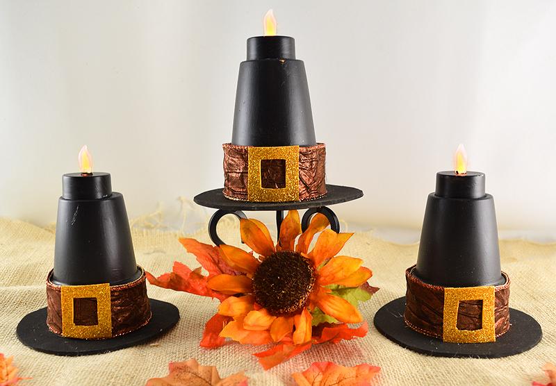 DIY Pilgrim Hats