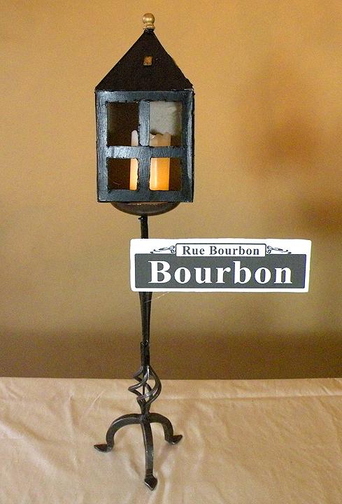 DIY Bourbon Street Sign