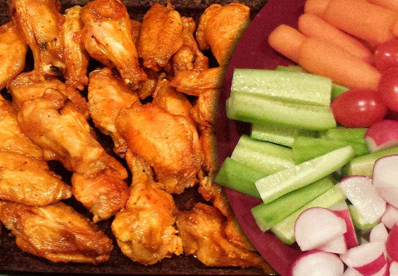 Super Bowl Wings Recipe