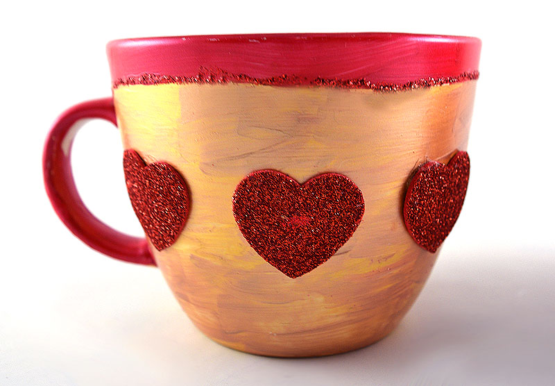 Painted cup