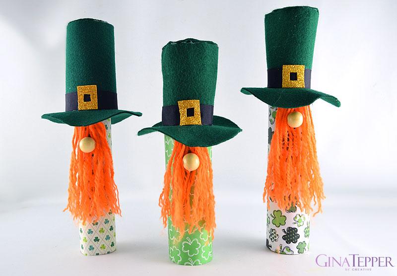 DIY St. Patrick's Day Gnomes