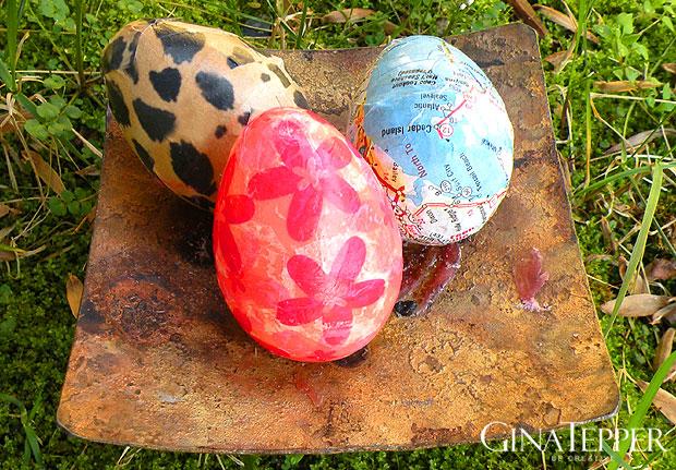 DIY Egg Shakers