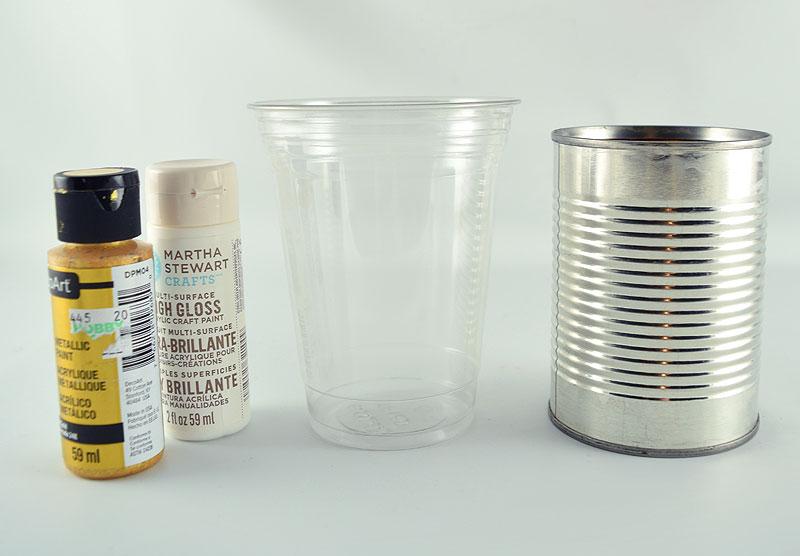 White Pitcher Vase Materials