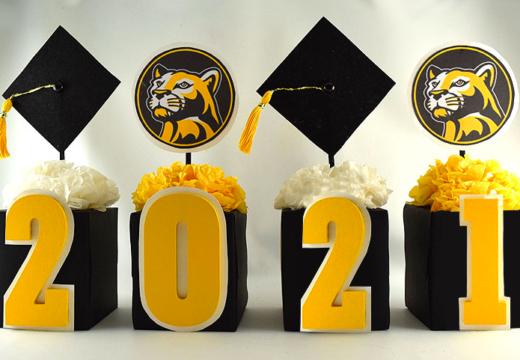 DIY Graduation Centerpiece