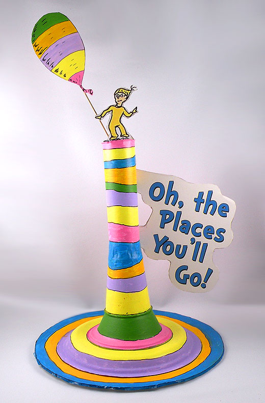 Oh The Places You'll Go Decoration