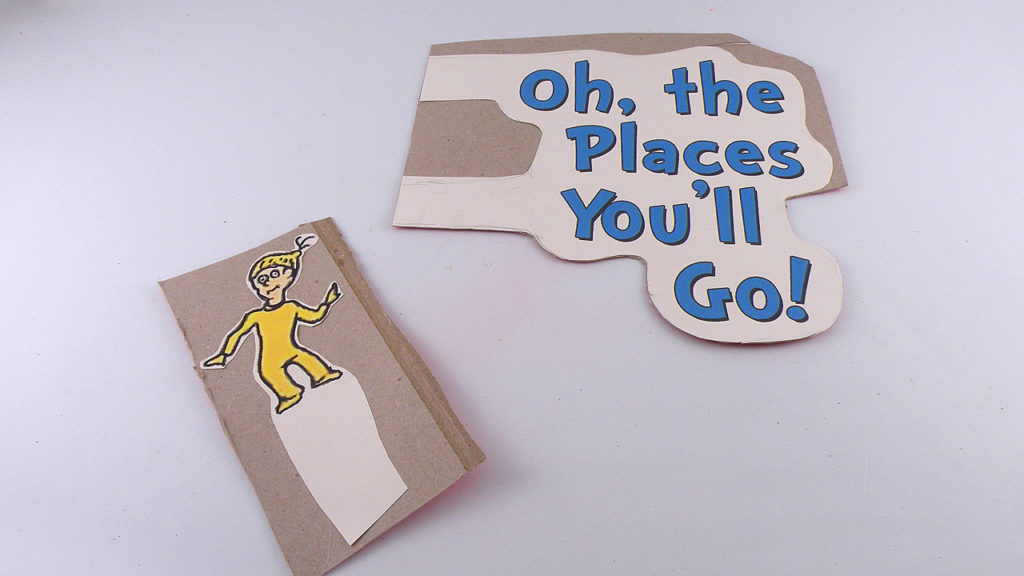 Print Oh The Places You'll Go Text