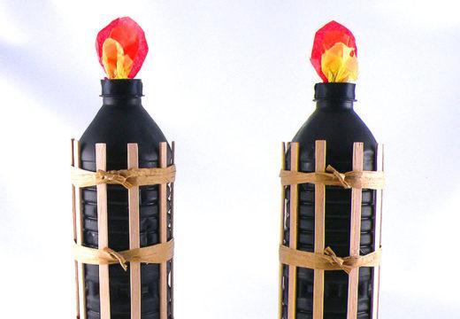 Fake tiki torches